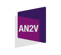Logo AN2V Association Nationale de Vidéoprotection