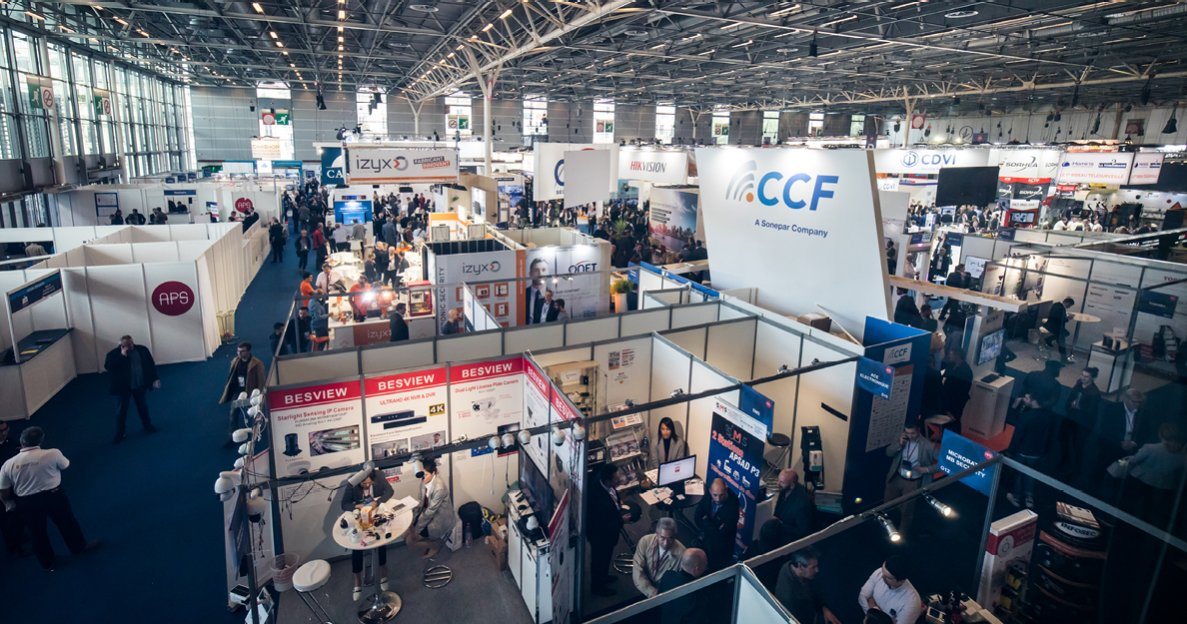 Stands salon APS 2019, salon + business meetings de la sûreté/sécurité